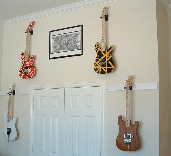 Anyone Use Wall Mounted Guitar Hangers Jemsite